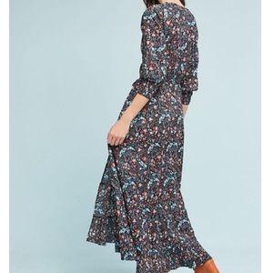 Anthropologie Dresses - Anthropologie Flannel Toulon wrap Dress
